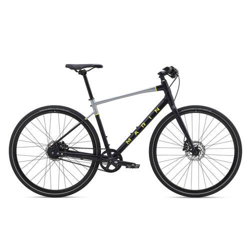 2022 Marin Presidio 3 - Carbon Belt Drive City Commuter Bike